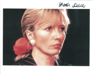 Sharon Duce, Doctor Who, Genuine  Signed Autograph 10 x 8 Photograph 10474